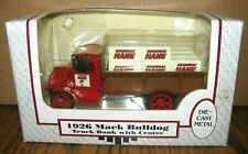 Mack Bulldog 1926 Delivery Truck Bank & Hardware Hank Crates 1:38 Ertl Toy #9291