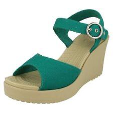 Sandalias y chanclas de mujer Crocs de lona