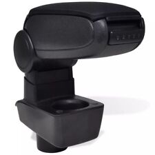 Reposar negro para Ford Fiesta MK7 (2009) Arm Rest Centre Consola Ajustable