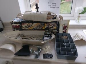 Vintage Star Wars Original Rebel Transporter Complete With Box