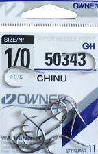 Owner Haken CHINU 50343 verschiedene Großen Angelhaken Hacken
