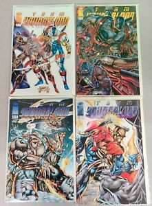 Team Youngblood Issues 9 10 11 12 Image Comics Rob Liefeld 1994 NM
