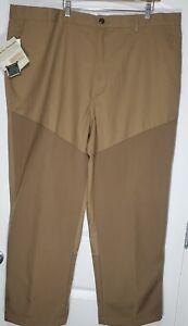 "Cabela's Boar Hide Pants Men's 46 Reg. Inseam 27.5"". Brush Hunting Brown NWT"