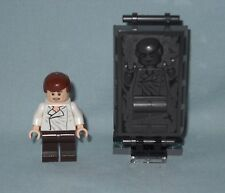 2017 NEW LEGO STAR WARS HAN SOLO MINIFIGURE & HAN SOLO CARBONITE,FROM SET 75137