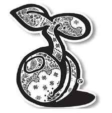seedleSs Clothing G Sprout Paisley Black White Smoke Sticker Decal Logo Slap 420