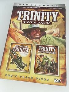TRINITY double movie box set They Call Me Trinity Terence Hill Bud Spencer