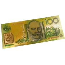 Australia 100 Dollars Gold Australian Banknote Plated With Pure 24K Gold