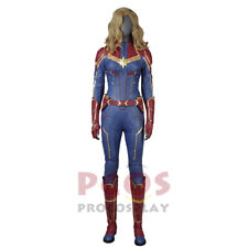 new improved version captain marvel Carol Danvers cosplay boots & costume
