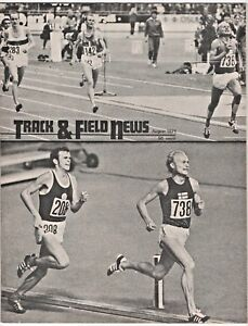 1971 Track and Field News Juha Vaatainen Finland European Championships