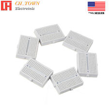 6pcs White Breadboard SYB-170 Tie-points Solderless Prototype PCB Circuit Board