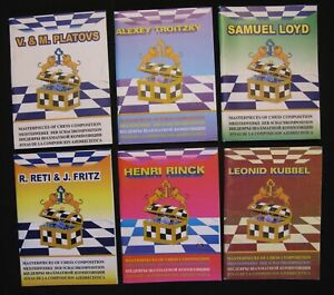 Chess Vladimirov. Masterpieces of chess composition (set of 6 books). In 4 langu