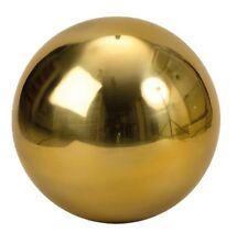 XXL Dekokugel Edelstahl in Gold Ø 30 cm Rosenkugel Weihnachten Garten Kugel