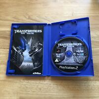Transformers The Game - Sony Playstation 2 PS2 - PAL - Complete