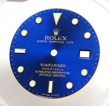 Genuine Rolex Submariner 16613 16618 16803 Blue & Gold Watch Dial SWISS MADE
