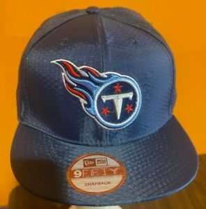 New Era Tennessee Titans  9FIFTY Snapback Hat One Size Fits All