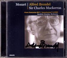 Alfred BRENDEL Signiert MOZART Piano Concerto 9 25 Charles MACKERRAS CD PHILIPS