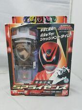 BANDAI Power RangersDekaranger Toukushou Sentai Red SPD License Morpher