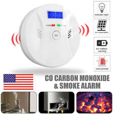 Combination Carbon Monoxide and Smoke Alarm Battery Operate CO & Smoke Detector
