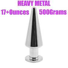 Anal Butt Plug-Heavy Metal 500grams - FREE Shipping