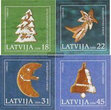 Lettland 687-690 (kompl.Ausg.) postfrisch 2006 Weihnachten