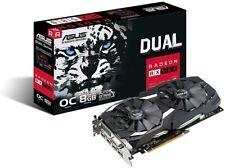 ASUS AMD Gaming Graphics Video Card Radeon RX580 DUAL OC 8GB GDDR5 4K GPU