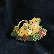 Disney Auctions SIMBA IN A BED OF LEAVES The Lion King LE 250 Pin