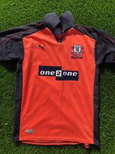 Everton 2001/02 3rd Kit Salmon Vintage Football Shirt XS