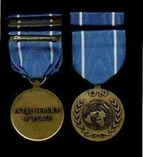 United Nations UN Award medal with ribbon bar UNTSO Truce Supervision Mission