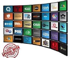 HDTV Digital Analog Antenna Fox TV Indoor UHF VHF Flat Antena View Free TV 50m
