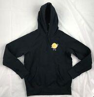 Nike SB Icon Pullover Floral Hoodie Black Yellow White 937835-010 Men's S-XXL