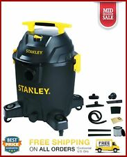 Stanley 10 Gallon 6 Peak horse power Wet/dry Poly Vaccum