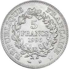 France 5 francs 1796-1996 KM#1155 200th Anniversary of the Decimal System