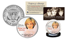 PRINCESS DIANA 20th Anniversary KENNEDY U.S. Half Dollar Coin - Portrait Edition