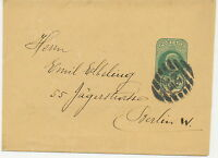 "GB 190? EVII 1/2d blue-green superb wrapper with barred cancel ""C / E.C / 20"""