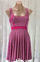 FOREVER NEW SIZE 6 STRIPED DRESS