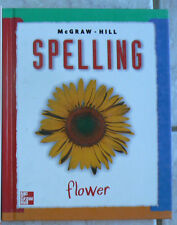 McGraw Hill SPELLING gr. 2/2nd, NICE & Clean HB!  1998