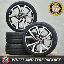 19 Inch Club S Wheels and Kumho Tyres 235/35R19 for VW Golf GTI R Mk5 Mk6 Mk7