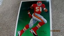 "DERRICK THOMAS Signed 27""x36"" Chiefs Poster/Photo -JSA Authenticated #Z15114"