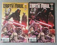 Star Wars Darth Maul #3 - Regular & 2nd print variant 2nd Cad Bane - VF/NM
