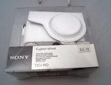 Sony LCJ-WD camera case brand new (white)