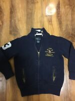 Ralph Lauren Boys Navy Blue Cardigan Aged 5 Years Old