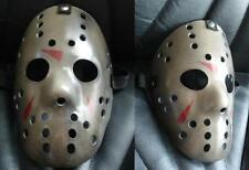 Maschera da Hockey dipinto-Halloween Fancy Dress Jason venerdì 13th Deluxe Horror
