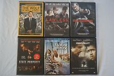 DVD Movie Lot #4 Wolf of Wall Street, Baby Boy, State Property, Lawless, Recruit