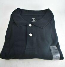 Harbor Bay 5XL Black Pique Polo Shirt