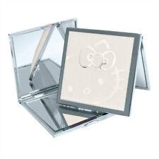 Hello Kitty Square Compact Mirror - White