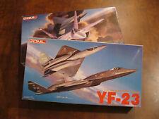 2 Kits! Dml Yf-22 Lightning 2 and Northrop Yf-23 Air Superiority Series 1/72
