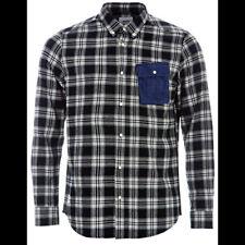 Camisas y polos de hombre de manga larga en negro talla M