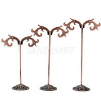 Jewelry Necklace Ring Earring Hanger Stand Display Organizer Holder Show Rack