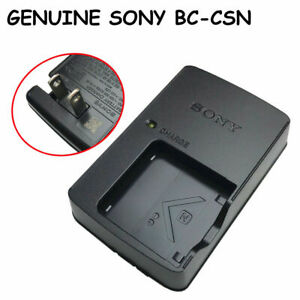 Genuine Sony BC-CSN Charger for DSC-TX7C WX220 W810 W830 W350 W320 NP-BN NP-BN1