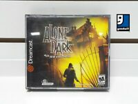 Alone in the Dark: The New Nightmare (Sega Dreamcast, 2001) Complete! TESTED!!!